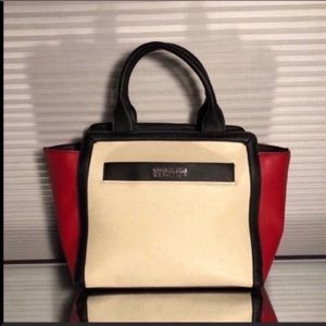 Kenneth Cole Black & Pink Colorblock Tote